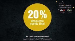20% de descuento por verano en los restaurantes del Grupo Jhosef Arias