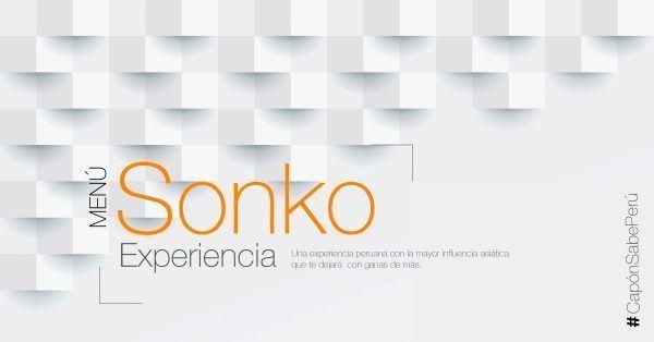 Menu Degustación Sonko