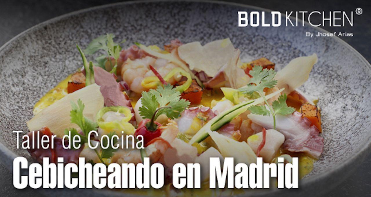 Taller de Cocina Cebicheando en Madrid