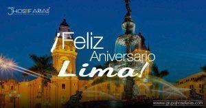 Aniversario Ciudad de Lima