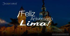18 de enero. Aniversario de la ciudad de Lima