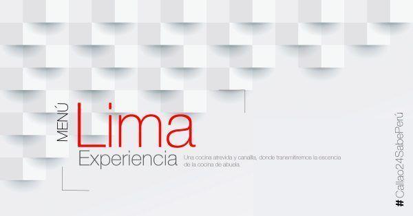 Menú Degustación Lima