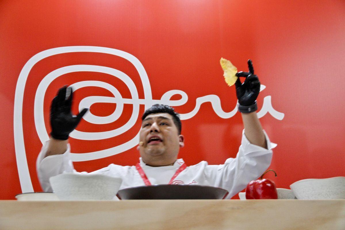 El Chef Peruano Jhosef Arias en Madrid Fusión 2019