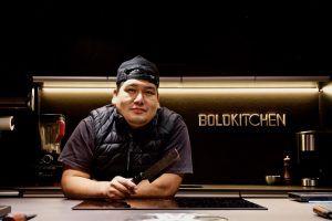 El chef Jhosef Arias en BoldKitchen