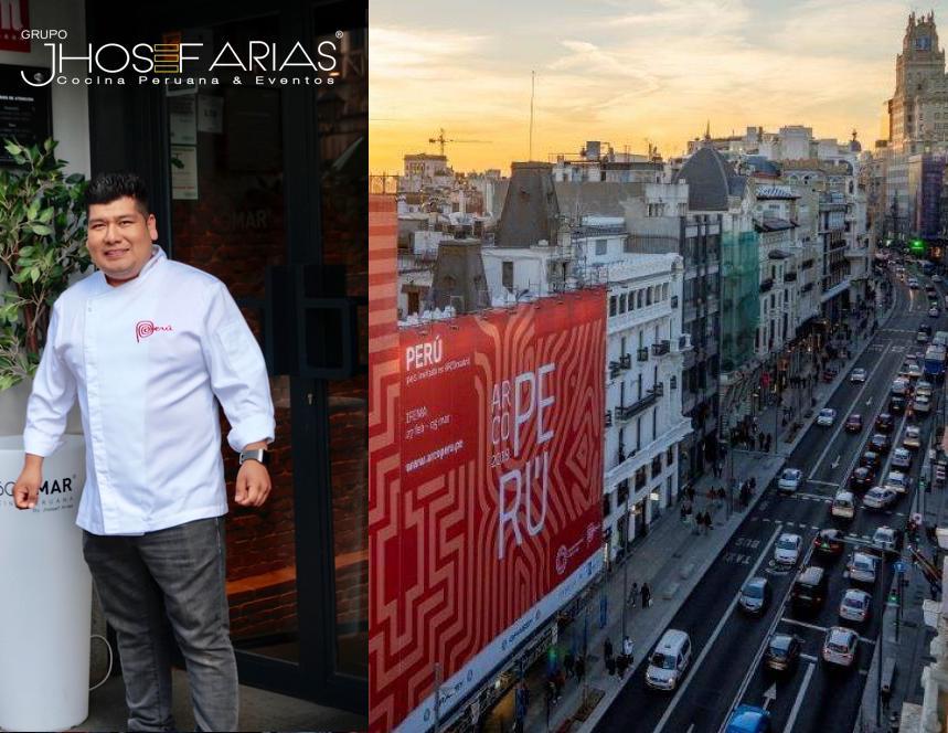 Grupo Jhosef Apoya a Perú con su cocina con motivo de la feria ArcoMadrid