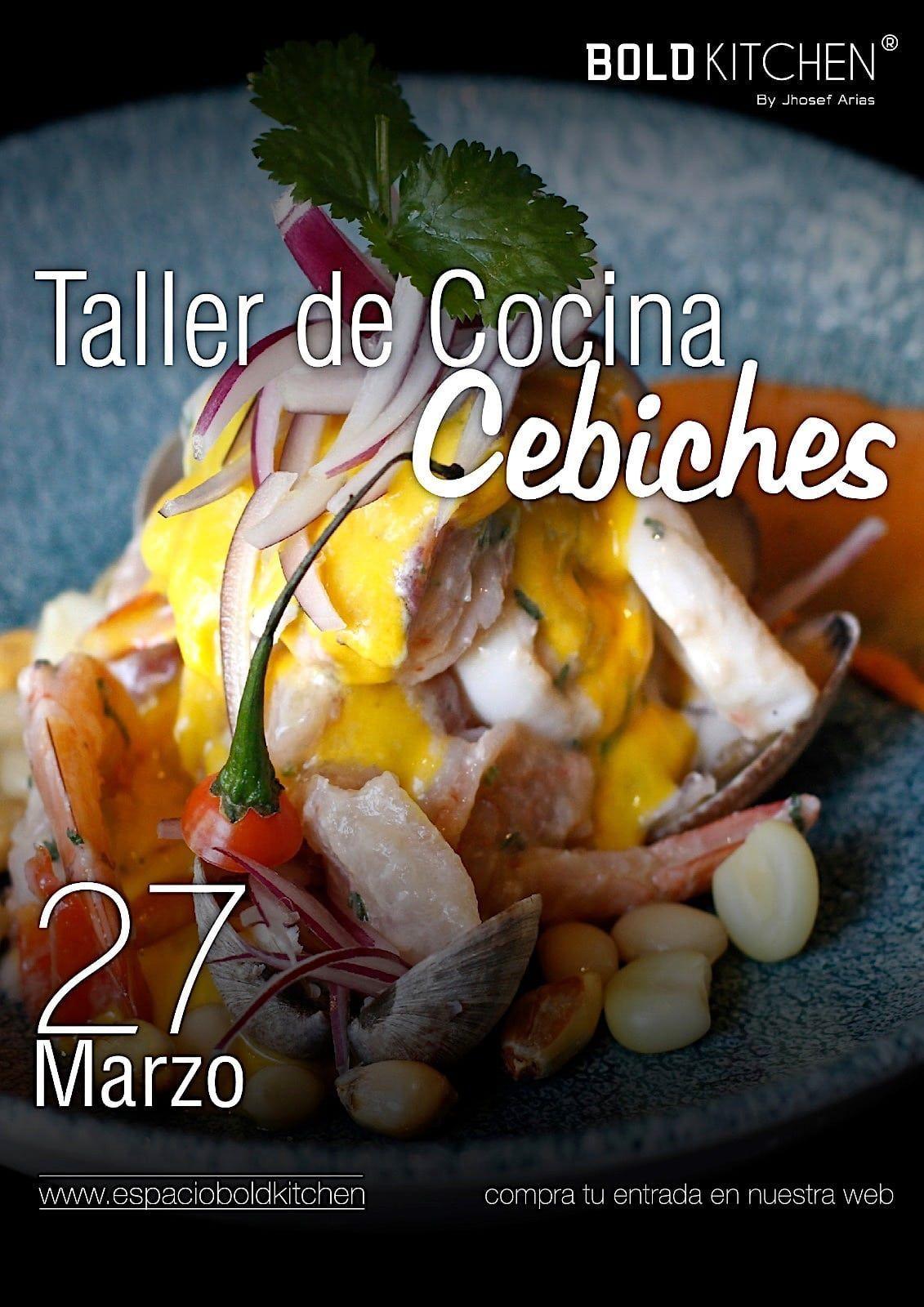 Taller de Cocina Cebichando en Madrid - 27 Marzo