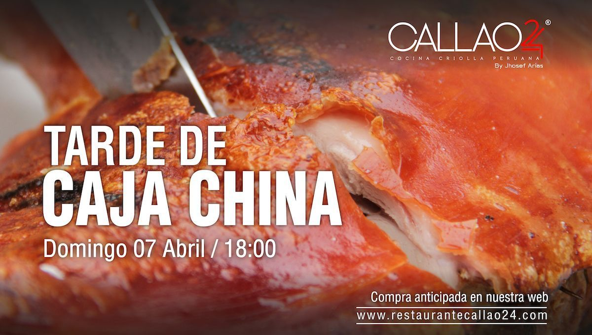 Tarde Caja China 7 abril