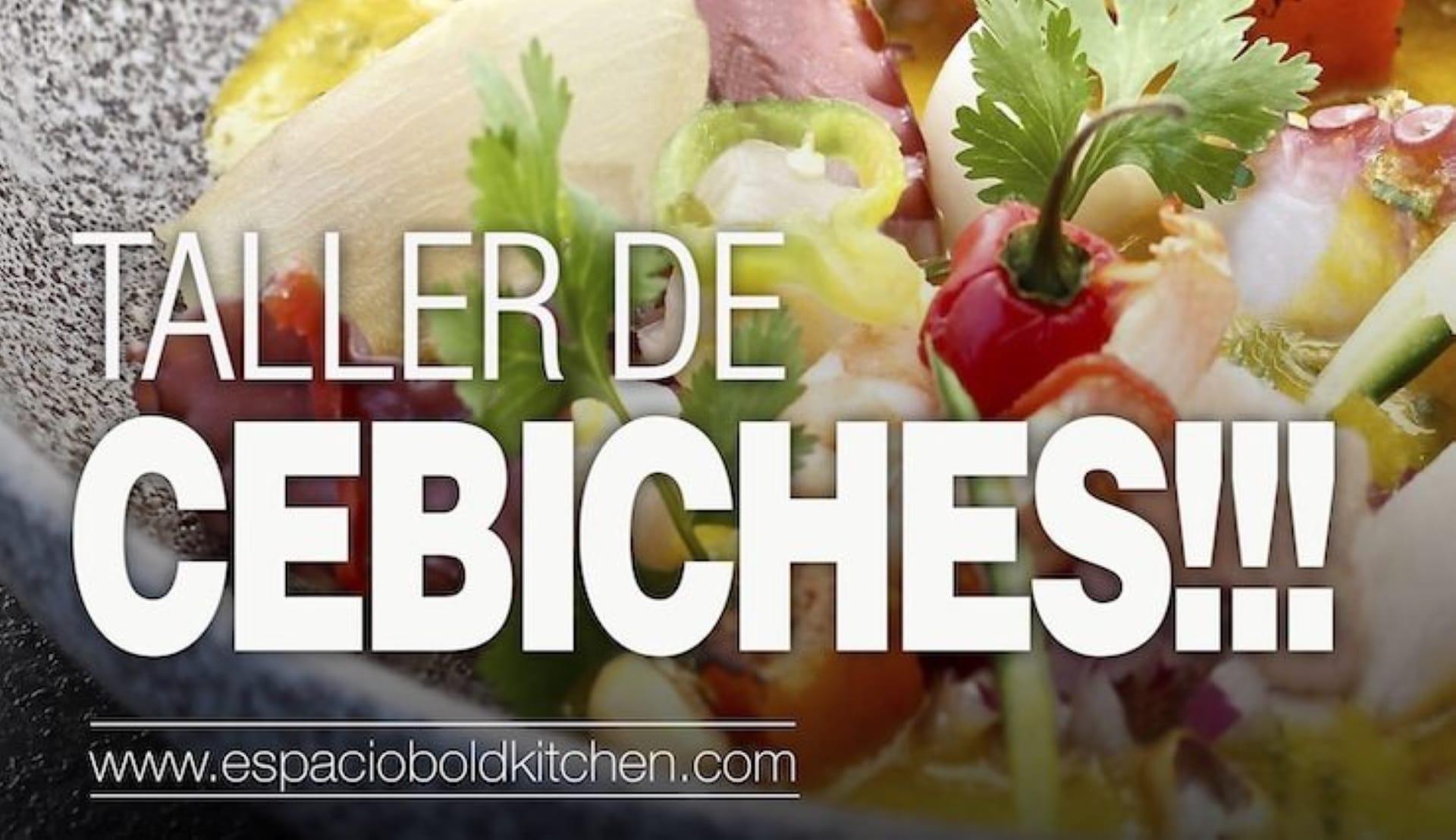 Taller de Cocina Cebiches con Jhosef Arias - 15 Abril